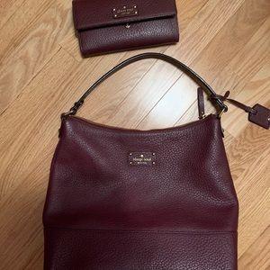 Kate Spade Bag with Matching Wallet